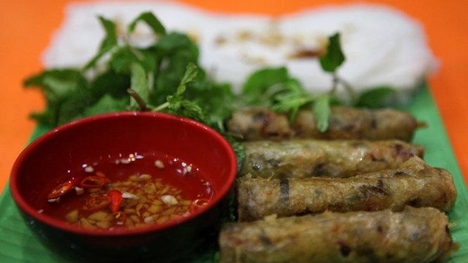Bánh mướt ram - món ngon Hà Tĩnh